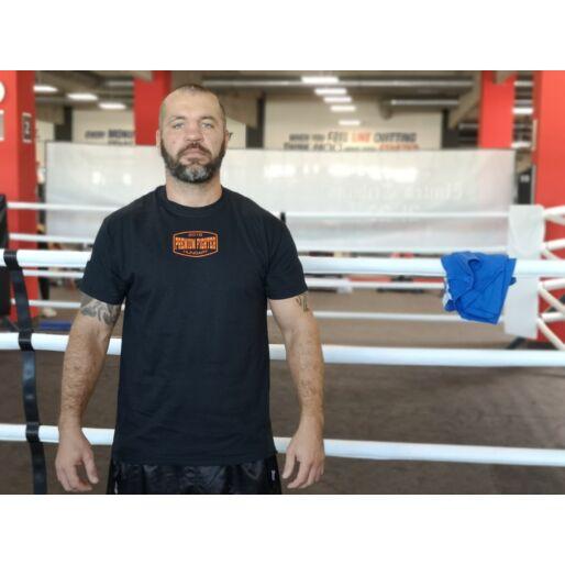 Premium Fighter - Boxing (fekete/narancs)